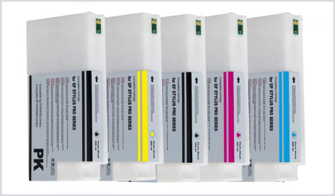Premium UltraChrome K3 Large Format Printer Ink 350Ml Filling Ink Cartridges