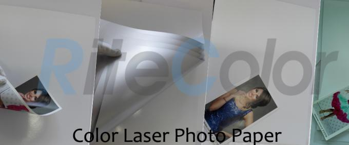 High Glossy Inkjet Media Supplies Color Laser Photo Paper Resin Coated