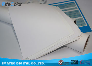 Printable Inkjet Cotton Canvas 410gsm For Large Format Pigment / Dye Ink Printing