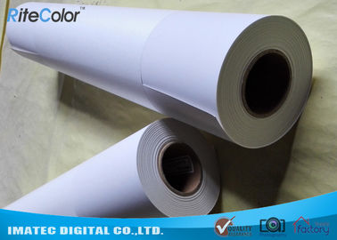 Outdoor 5760 DPI Inkjet Printing Photo Paper Matte Finish Continuous Loading