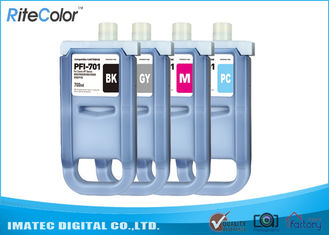 Large Format Inks 700Ml Compatible Ink Cartridges For Canon iPF8000 / 8000S