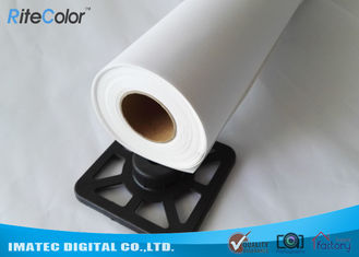 360 gsm Eco Solvent Glossy Digital Printable Canvas Roll For Eco Solvent Inks