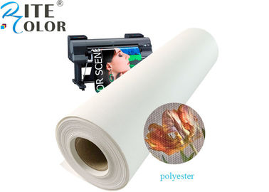 "In phun mờ Polyester Canvas cuộn 600d Eco Solvent 24 ""36"""
