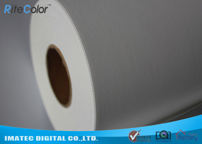 10Mil Thickness Polyester Canvas Rolls / 260Gsm Water Resistant Canvas