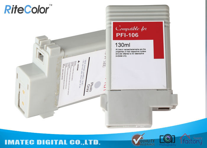 130Ml Compatible Large Format Ink Inkjet Printer Cartridges With Chip
