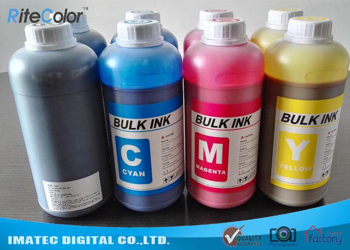 DX4 Printheads Odorless Eco Solvent Inks Outdoor Signage Display Printing nhà cung cấp
