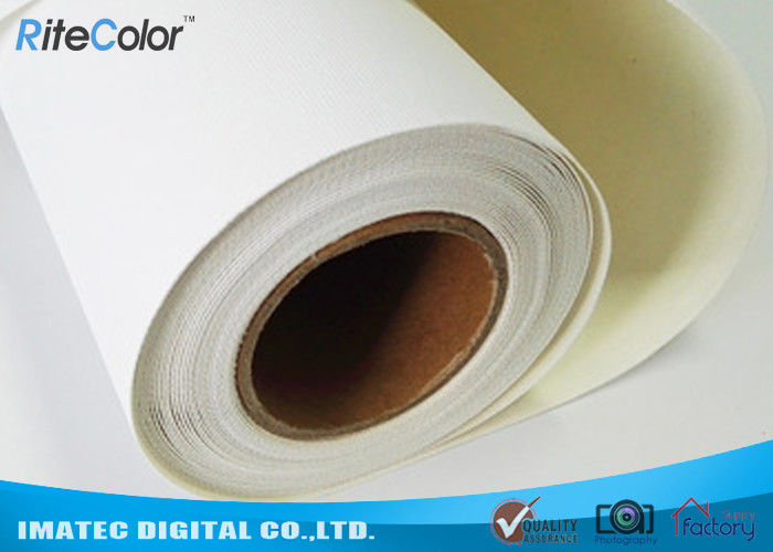 "44"" Matte Inkjet Cotton Canvas 360gsm for Inkjet Digital Printing , Waterproof Stretched Fine Art Canvas"