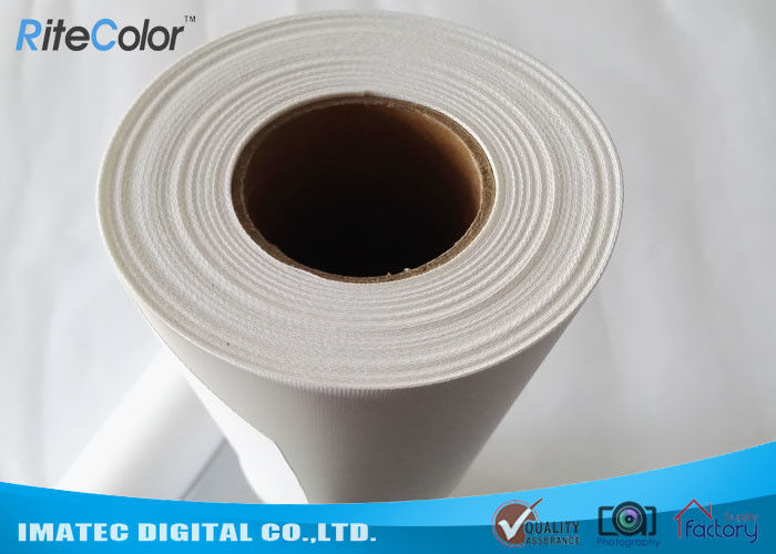 Digital Printing Inkjet Cotton Canvas Roll , 360gsm Matte Photographic Canvas Prints