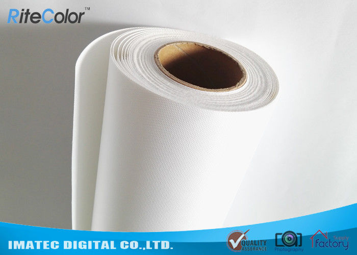 Wide Format Fine Art Photo Printing Matte Inkjet Polyester Canvas Roll For Pigment Ink nhà cung cấp
