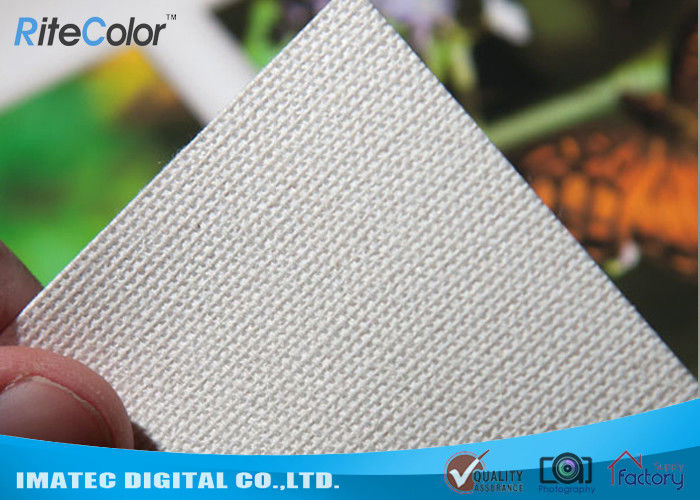 60 Inches 420gsm PolyCotton Inkjet Digital Printing Matte Canvas in 21mil Thickness nhà cung cấp