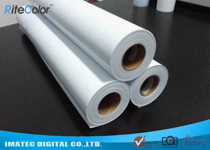Eco Solvent Matte PP Synthetic Paper , Solvent based Polypropylene Paper for Outdoor Display