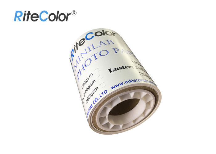 Resin Coated Minilab Photo Paper Digital Inkjet Printing For Epson L800