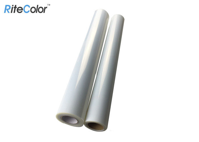 Screen Printing Milky Translucent Polyester Film Roll Aqueous Ink