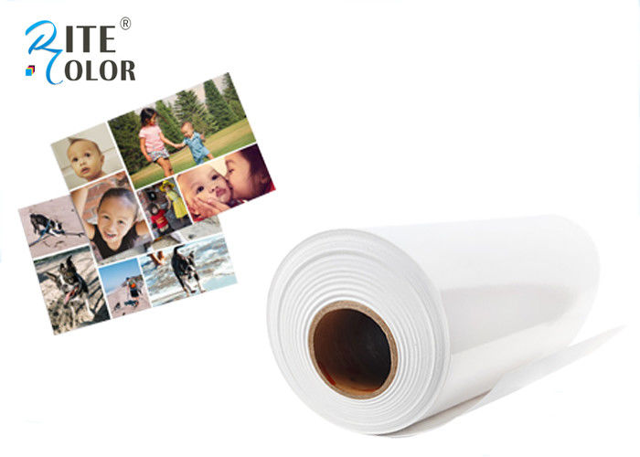Bright White Resin Coated Photo Paper Satin Inkjet For Photographic Printing nhà cung cấp