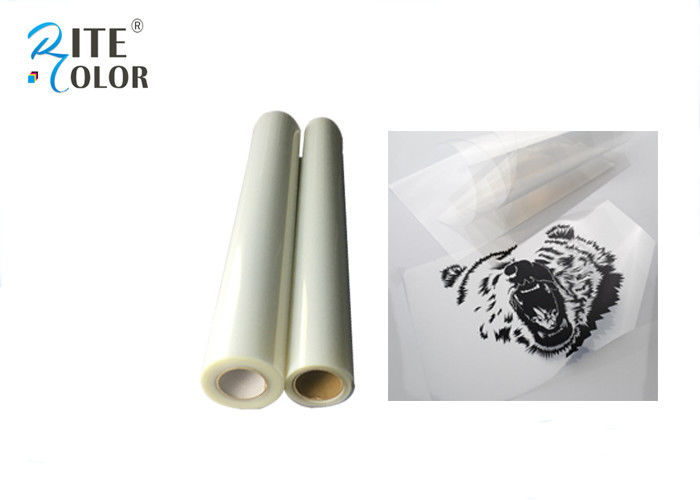 Milky Screen Printing Inkjet Film Waterproof One Sided Semi - Transparent